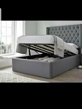 Quality Ottoman storage bed With Mattress and Gas Lift Hydraulic System