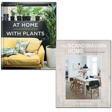 Scandinavian Home, At Home with Plants 2 Books Set Interiors inspired by light