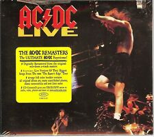 NEW/SEALED Live [Remaster] by AC/DC (CD, Feb-2003, Epic) WITH BOOKLET