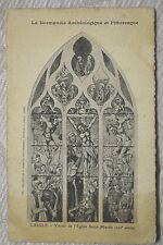 "CPA "" L'AIGLE - Vitrail de l'Eglise Saint Martin"