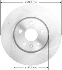 Disc Brake Rotor-GS Front,Front Left Bendix PRT5973