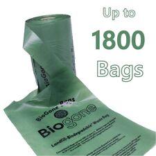 Biodegradable Dog Waste Bag Pet Poop   180, 360 or 1800 Biogone Poo Bags