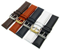 MODENA Excellent Men's Padded Stitched Leather Watch Strap 18mm - 30mm C064