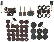 Schleifer-Sortiment 23-teilig + Trennschleifer-Set 34-teilig für Minischleifer