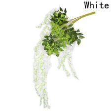 Artificial Plants Wisteria Vine Hanging Silk Flowers Wedding Party Garden Decor