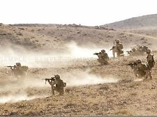 Guerra Ejercito Soldado Pistola Rifle Marino Platoon Desierto Art Print bb3406a