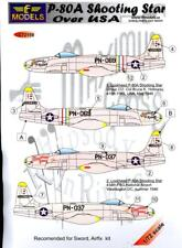 LF Models Decals 1/72 LOCKHEED P-80A SHOOTING STAR w/Resin Drop Tanks