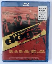 Reservoir Dogs 15th Anniversarry New Factory Sealed Blu-ray Dvd Free Shipping Us