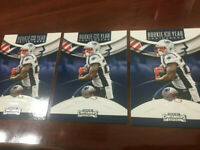"2018 SONY MICHEL ""ROOKIE OF THE YEAR""  PANINI CONTENDERS FOOTBALL ROOKIE RC  WOW"