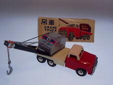 """GSCHINA  """"CRANE TRUCK"""" aus CHINA, 18cm, FRICTION, BLECH/TIN, NEW/NEU/NEUF !"""
