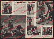 Bambini Scooter Vespa Mack Albstadt ARAL Stazione di servizio Polizia protezione Uomo 1955