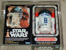 Vintage Star Wars 1979 Kenner AFA 80 R2-D2 12 inch doll MISB SEALED Box READ!