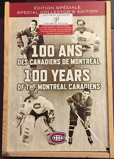 Montreal Canadiens 100 Years Special Collectors DVD Boxset