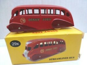 Dinky Toys Streamlined Bus 75th Anniversary DTCA