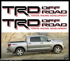 "TRD Toyota Tacoma Offroad 4x4 Decals Emblem -Truck Accessories Size 3"" x 18"""