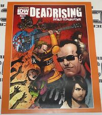 Tom Waltz Signed Dead Rising Road to Fortune Poster Comic Con Off the Record 2