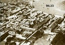 North Norfolk Postcard - Wells next the Sea - From the Air c1925 - WL23