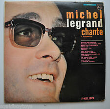 MICHEL LEGRAND : Chante LP Record Philips