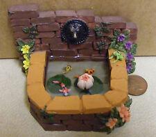 1:24 Scale Resin Lilly Pond 2.5cm Diameter Tumdee Dolls House Garden Accessory