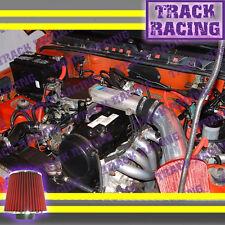 89 90 91 92 93 94 GEO TRACKER SUZUKI SIDEKICK 1.6L I4 AIR INTAKE KIT Black Red