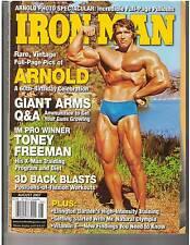 IronMan Bodybuilding Muscle Magazine Arnold Schwarzenegger Rare Photos 8-07
