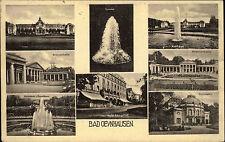 Bad Oeynhausen Ravensberger Mulde AK 1927 Mehrbildkarte Kurhaus Hotel Königshof