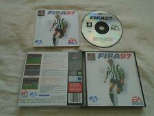 FIFA 97 PS1 (COMPLETE) black label football Sony PlayStation rare