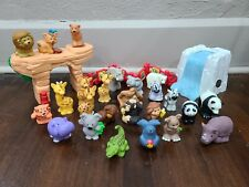 FISHER-PRICE Little People Zoo Animals Figures and Playset Accessories