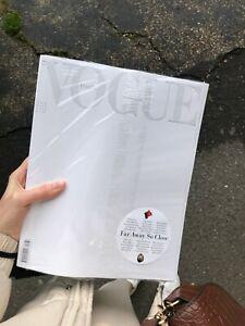 Vogue Italia April 2020 White Edition