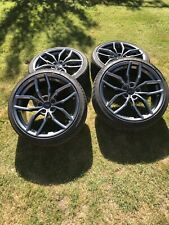 "RACINGLINE R360 ALLOY WHEEL SET IN GUNMETAL - 19"" x 8.5J - ET45 - 5x112 - 57.1mm"