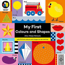 My First Colours and Shapes (The Learning Garden), Metsola, Aino-Maija, New