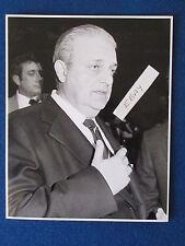 "Original Press Photo - 10""x8"" - Raimundo Saporta - FIFA World Cup 1982 President"