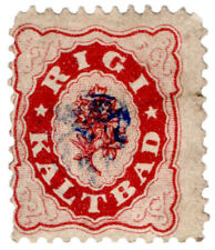 (I.B) Switzerland Hotel Stamp : Rigi Kaltbad