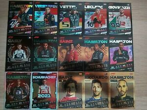 TOPPS F1 TURBO ATTAX 2021 Foil OC GIANT and Limited Edition Cards - You Choose