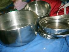 stainless camping cookware set good for bsa  boy scout