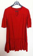Superbe Robe Rouge COMPTOIR DES COTONNIERS Taille 38 NEUVE  (valeur 120 €)