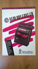 Wurlitzer New Orleans CD Jukebox Sales Brochure / Flyer / Pamphlet