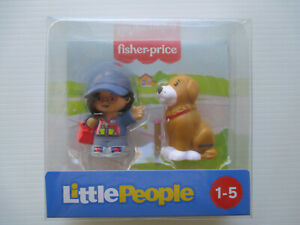 Fisher-price Little People *Girl & Dog* where your story starts! 1-5 YEARS NEW!
