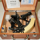 Astra III Marine Sextant Seaman with Wood Case Boating Navigation Distance