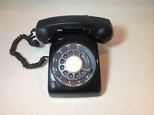 Vintage Itt Rotary Dial Desk Phone with 2 lines Good Condition multi line