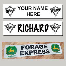 Vintage  Foden Lorry Truck Bus Trucker Windscreen SHOW NAME PLATES - MTP