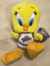 "TWEETY BIRD Tune Squad Space Jam Plush 12"" Stuffed Toy Looney"