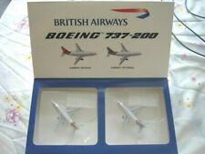 1/400 Gemini Jets Boeing 737-200 British Airways Set of 2 scale model diecast