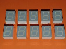 10x 7-Segment LED Anzeige 10mm rot TDSR3150 gem. Anode