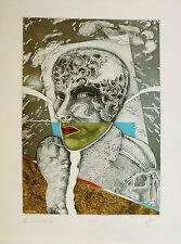 Paz Julio (Buenos Aires 1939-Milano 2010)-Acquaforte- Editore Grafica Uno