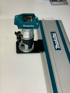 Makita DRT50Z, RT0700CX Router Adaptor To Makita Track Guide Rail