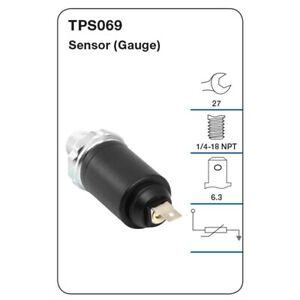 Tridon Oil Pressure Switch TPS069 fits Ford Fairmont 4.0 (AU), 4.0 (EF), 4.0 ...