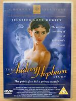 The Audrey Hepburn Story DVD 2000 Hollywood Legend Biopic Drama Film Movie