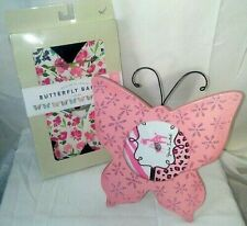 Wooden Butterfly Picture Frame Hobby Lobby and Butterfly Banner Horizon Pink