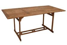 Gartentisch Holztisch Akazientisch Gartenmöbel Tisch KORFU 90x180cm Holz Akazie